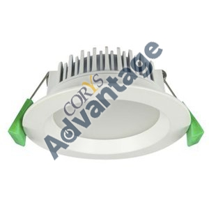 DOWNLIGHT LED RND 12W WHITE 3000K IP44 GEO12
