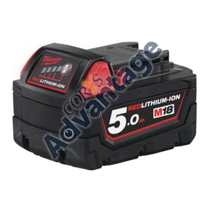 BATTERY M18 5.0AH REDLITHIUM-ION