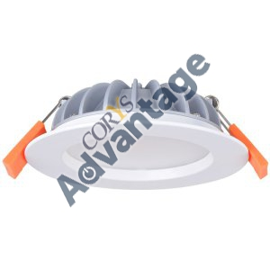 DOWNLIGHT LED 12W 3000K IC-F/IC4 & DIM DRVR 90DG 120MM