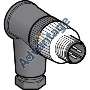 browse our product catalogue Inductive Sensor connector male angled m12 4w xzcc12mcm40b