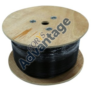 0000354398 CABLE CAT6 BLACK SOLID GEL C-C6-SLDGEL (PER MT)