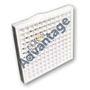 GRILLE FIXED EGGCRATE 150MM WHITE DCT0473