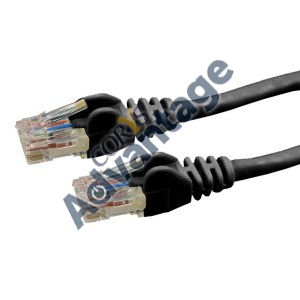 LEAD PATCH 1.5M CAT6 UTP BLK DYNAMIX (T568A SPEC) 550MHZ