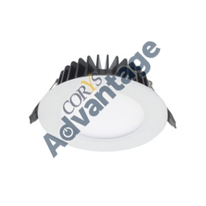 DOWNLIGHT LED DIM 10W 3000K IC-F IP65 WHT 106MM DLEK220