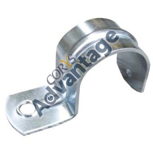 SADDLE HALF GALV 25MM HSG25